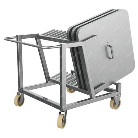 Тележка для транспортировки крышек для чан-тележек