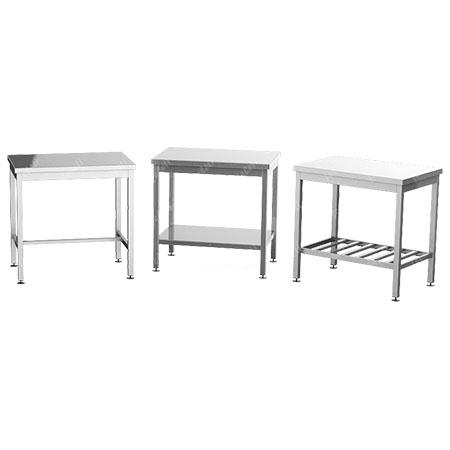 Столы разделочные без борта